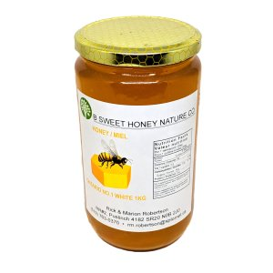 1kg Bottled Honey