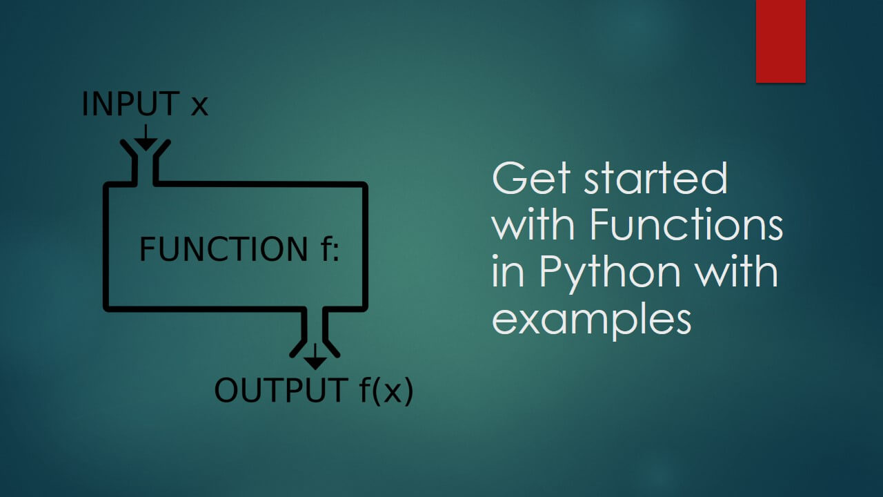 Functions in Python with example - Beetechnical