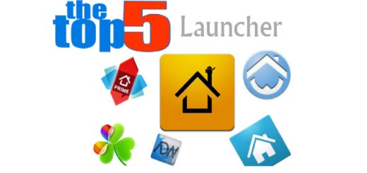 Top 5 Android Launchers