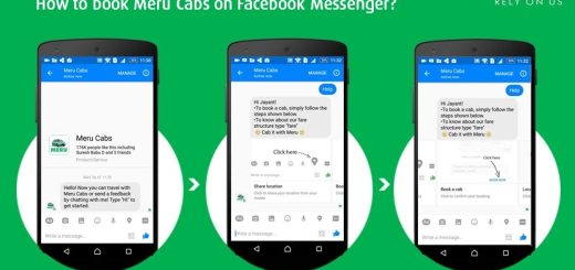 How to book Meru Cabs on Facebook Messenger