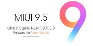 Redmi Note 5 MIUI 9