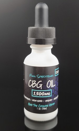 CBG Oil Tincture Drops