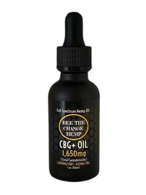 CBG Oil Tincture Drops