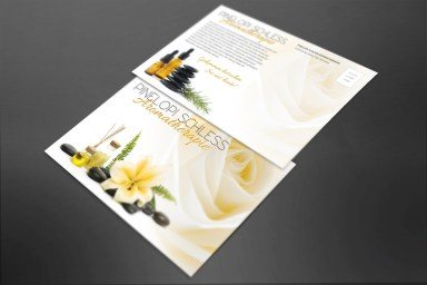 Aromatherapy Postcard