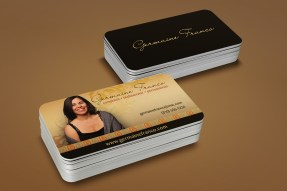 Germaine Franco Business Cards