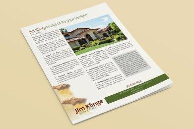 Jim Klinge Article Pages