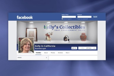 Kelly's Collectibles - Facebook Banner Image