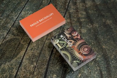 Paolo Bacigalupi Business Card