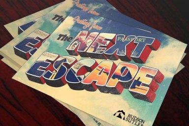 The Next Escape Postcard