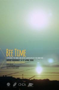 Residencia artística Bee Time I, Primavera 2016 Santa Lucía