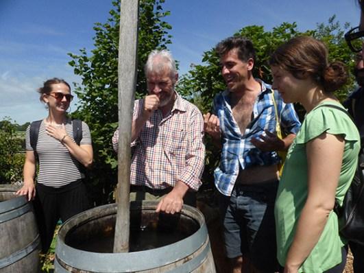 Tablehurst farm con Peter Brown