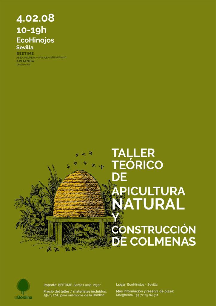 Taller teórico de apicultura natural y construcción de colmenas