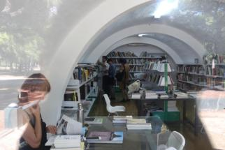 A visit to NMAC's library on Art and Ecology