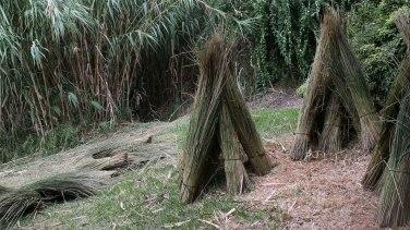El barrón usado para las colmenas de paja