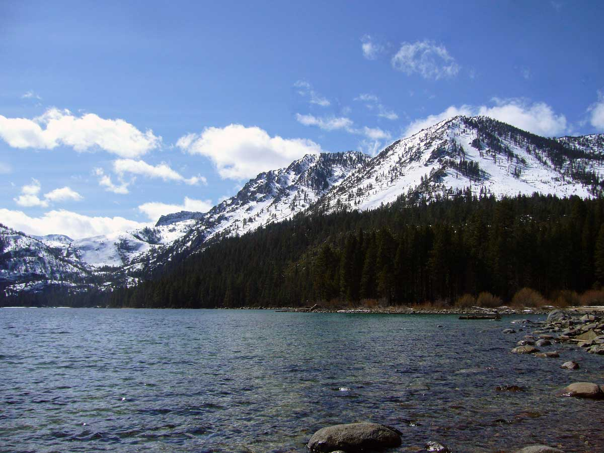 West shore of Emerald Bay from Emerald Point