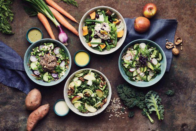 plantbased Salads von BEETNUT