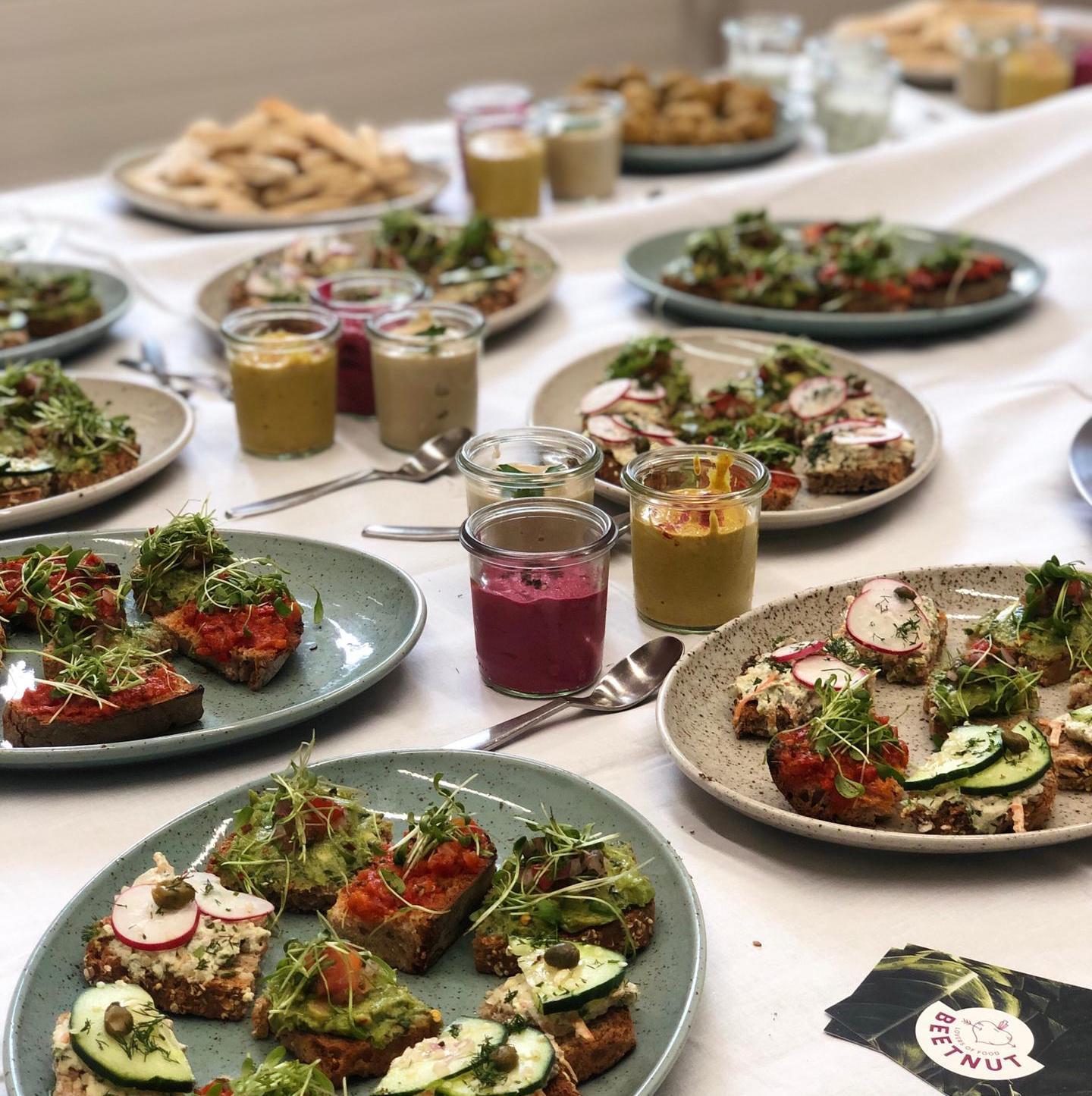 Offertenanfrage für BEETNUT Catering