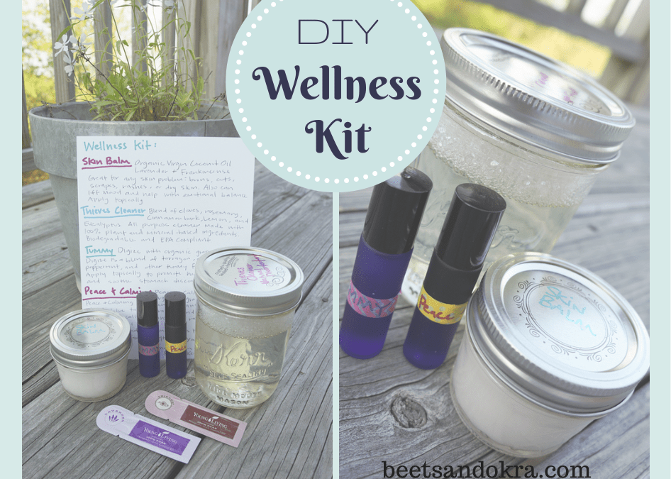 DIY Essential Oil Wellness Kit