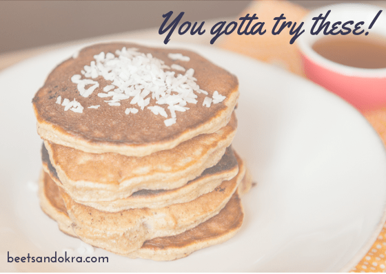 Yummy Gluten and Dairy free pancakes!