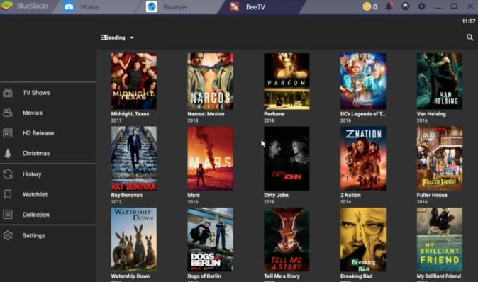 BeeTV Movies on Windows & Mac PC