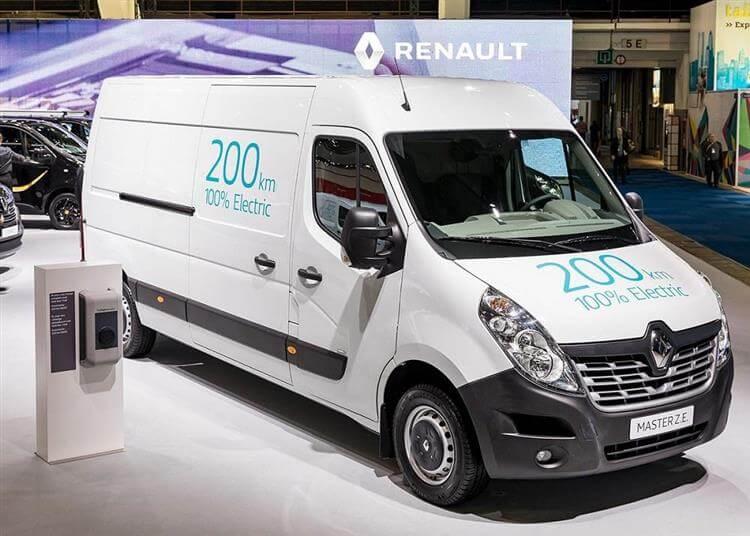 Utilitaire électrique 2019 : Renault Master