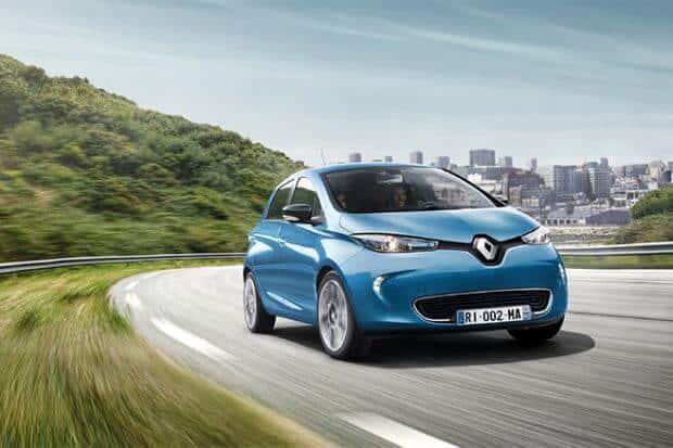 Renault Zoe voiture électrique 2019