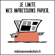 RSE Ne pas imprimer de documents inutilement