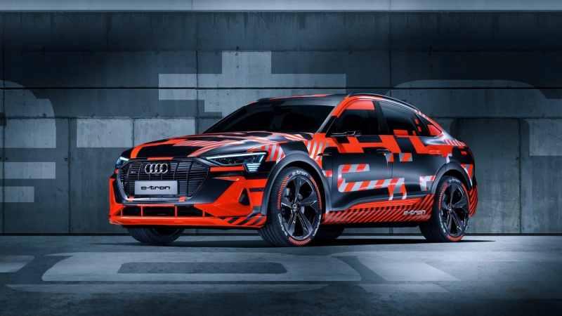 Voitures électriques 2020 : Audi e-tron Sportback