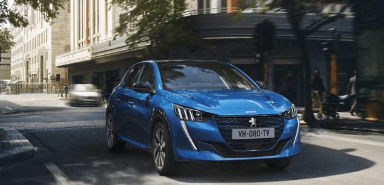 Les essais de voitures électriques : Peugeot e-208