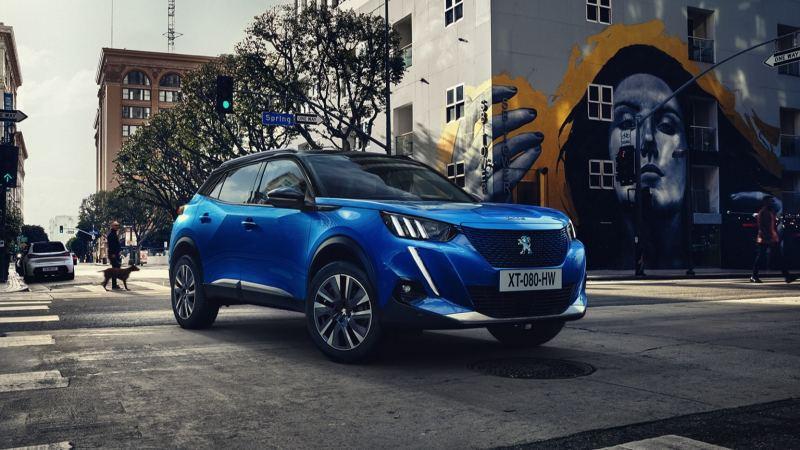 Voitures électriques 2020 : Peugeot e-2008 SUV