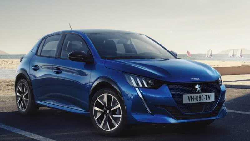 Voitures électriques 2020 : Peugeot e-208