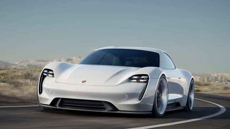 Voitures électriques 2020 : Porsche Taycan