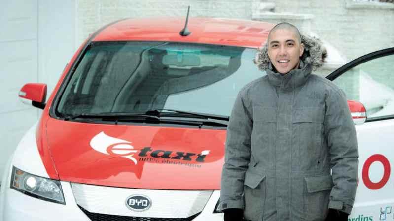 Les taxis électriques au Québec