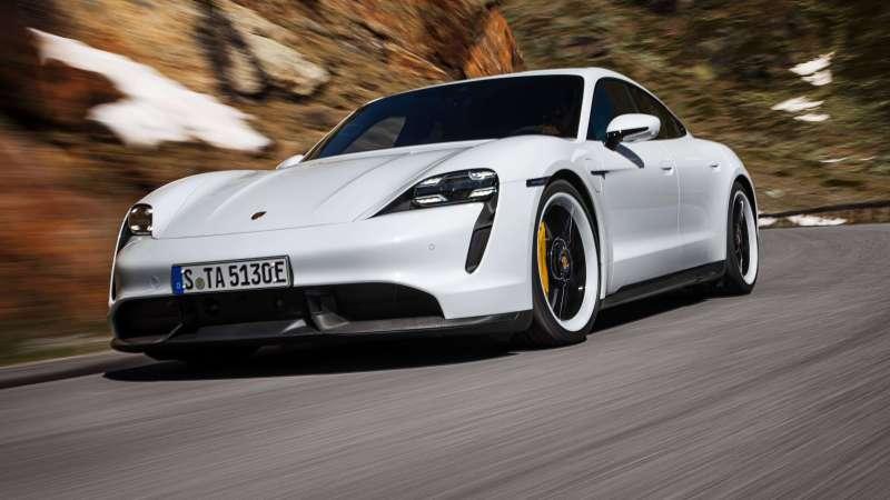 Alternatives à tesla - Porsche Taycan