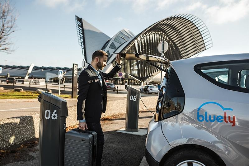 Recharge voiture électrique Lyon