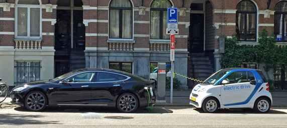 Au Pays-Bas, des bornes installées devant chez vous