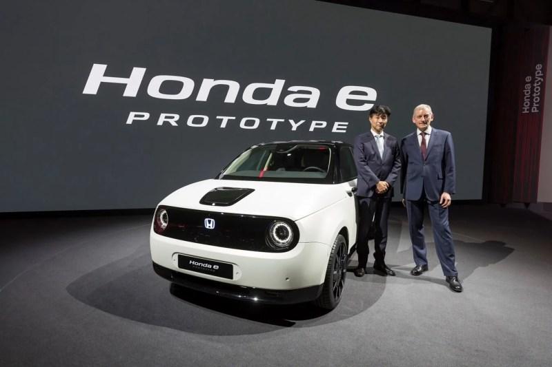 Honda e : le coup de cœur du salon de Genève