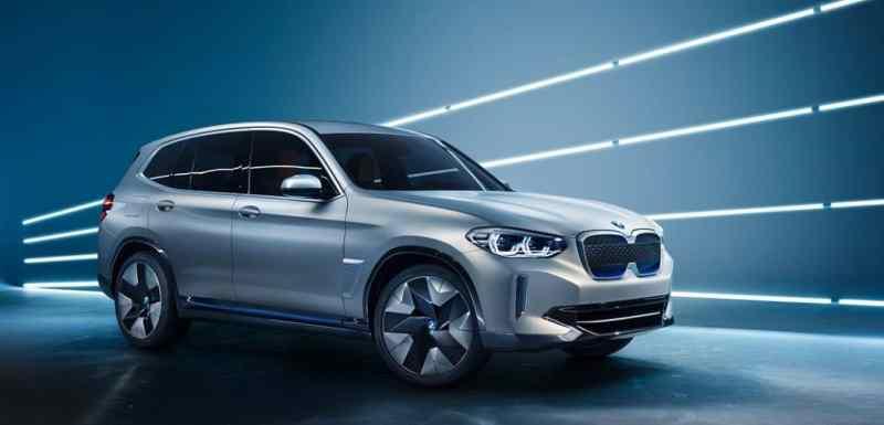 suv électriques BMW iX3