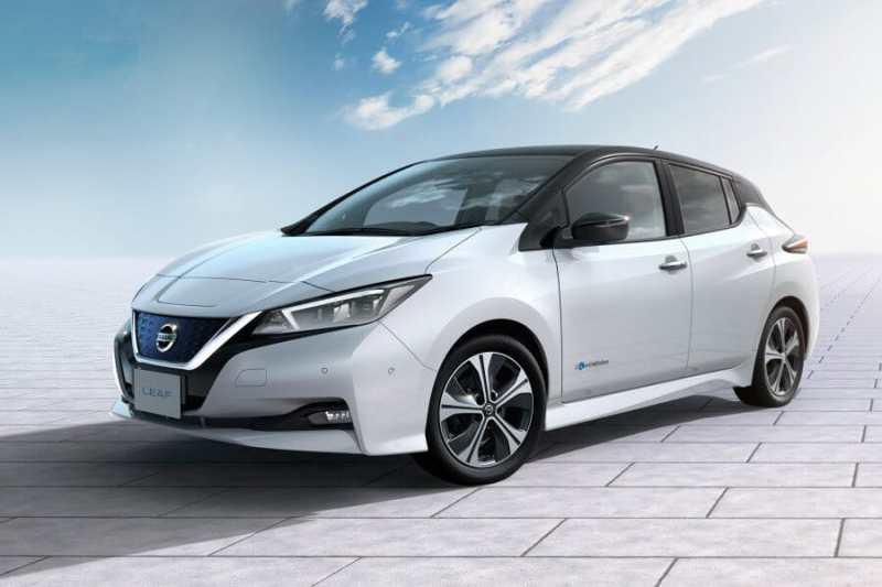 meilleure voiture électrique 5 places Nissan Leaf e+