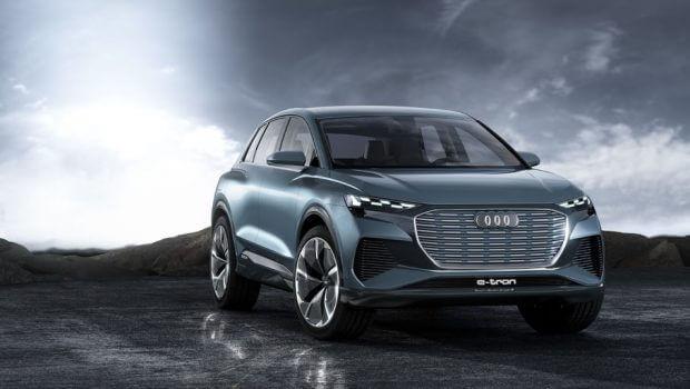 Voiture électriques 2021 Audi Q4 E-Tron