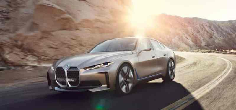 Voitures électriques 2021 BMW i4