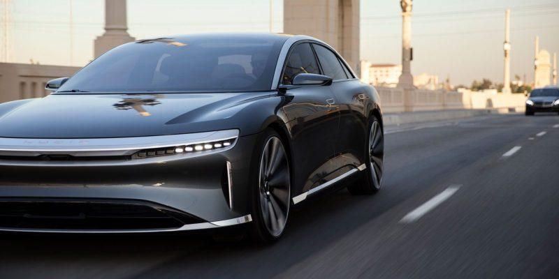 voitures électriques puissantes