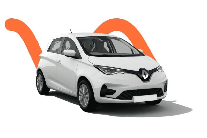 Renault Zoé voiture électrique Nice