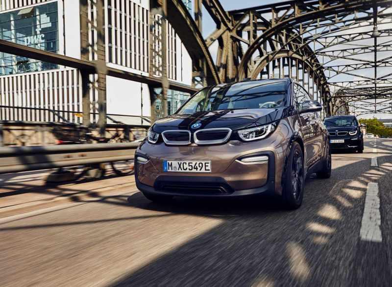 BMW i3 120ah - voiture électrique autoroute