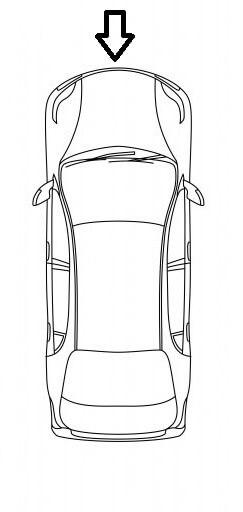 Emplacement du port de recharge Nissan leaf 40