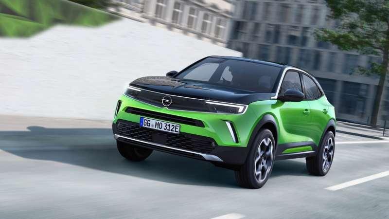 Opel Mokka e électrique sur beev
