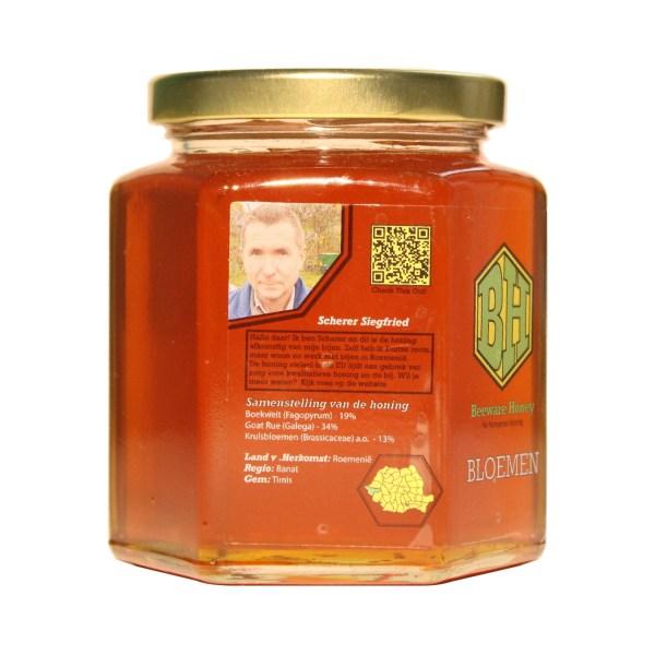 echte bloemen honing