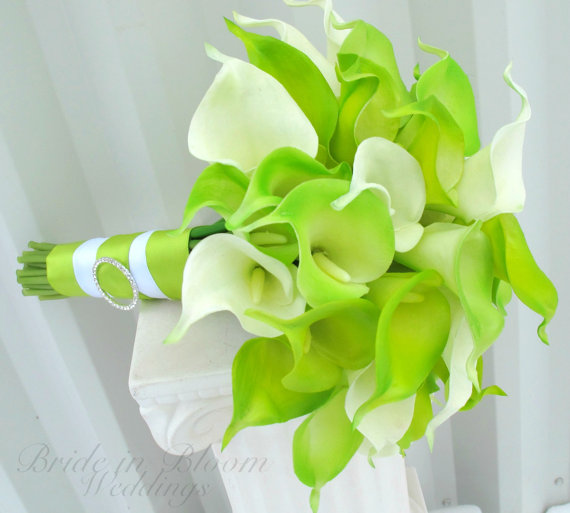 brides-bouquet-lime-green-real-touch-calla-lily-wedding-bouquet