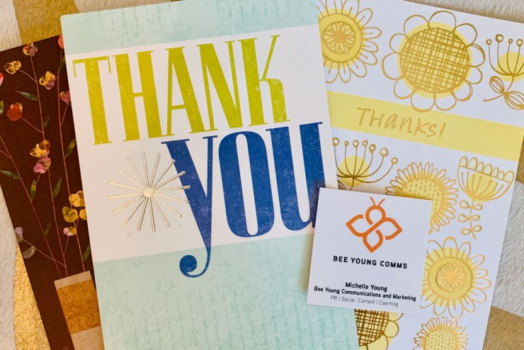 Penning a Well-Written Thank You Note