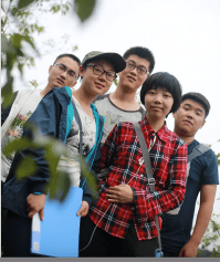 Students from Zhejiang University visited the plots